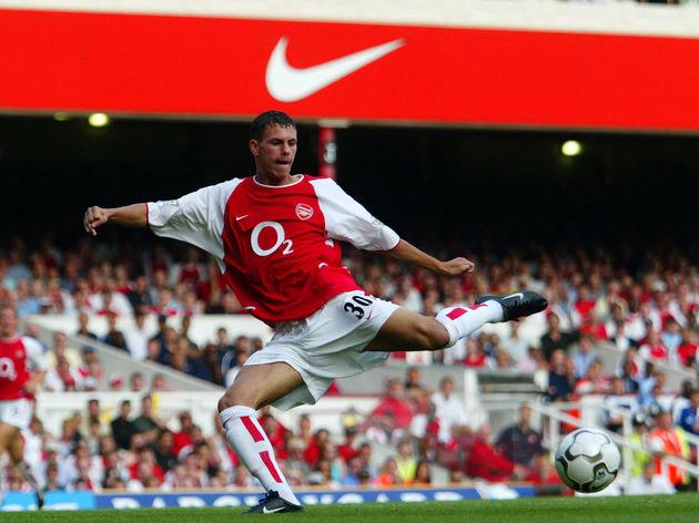 Jeremie Aliadiere of Arsenal