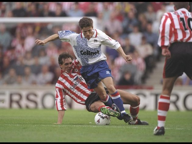Juninho of Middlesbrough in action