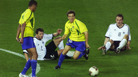 Juninho Paulista of Brazil