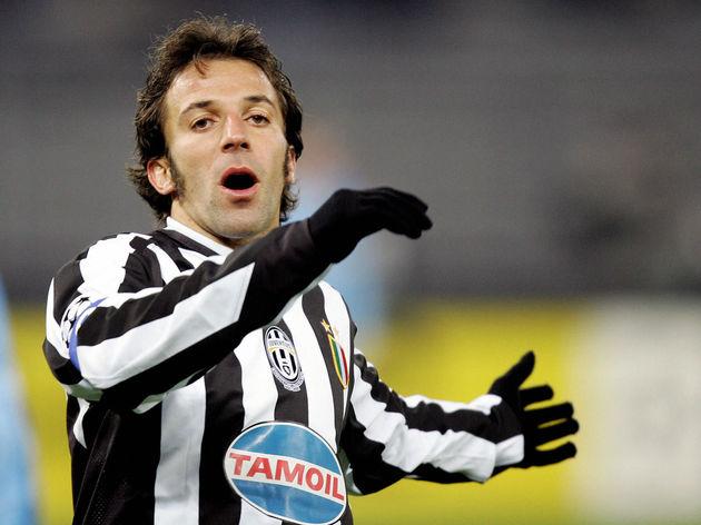 Juventus forward Alessandro Del Piero re