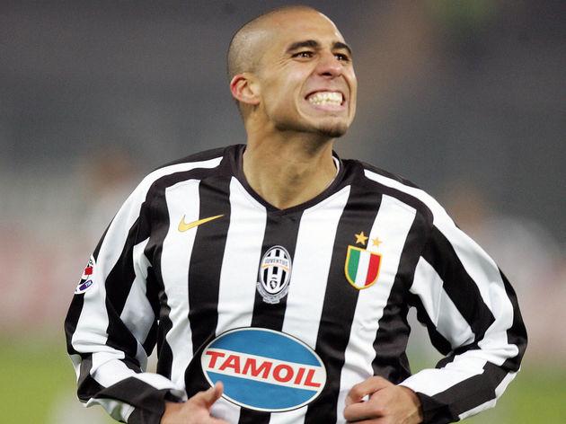 Juventus'  forward David Trezeguet celeb