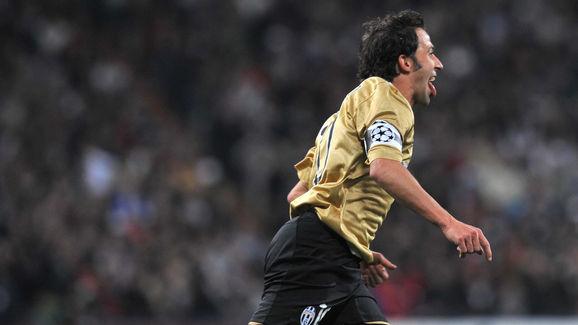 Juventus's Alessandro Del Piero celebrat