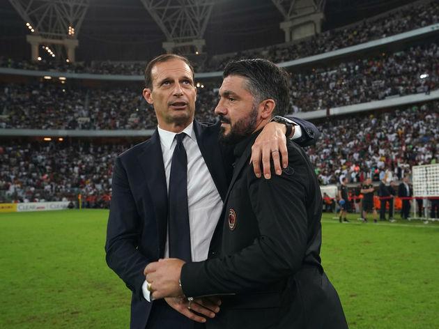 Massimiliano Allegri,Gennaro Gattuso