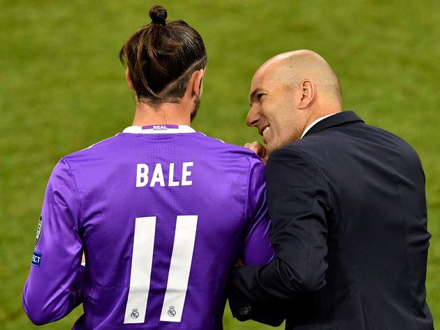 Zinedine Zidane,Gareth Bale