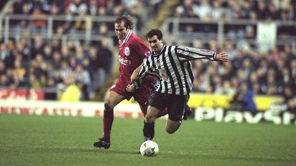 Keith Gillespie and Jason McAteer