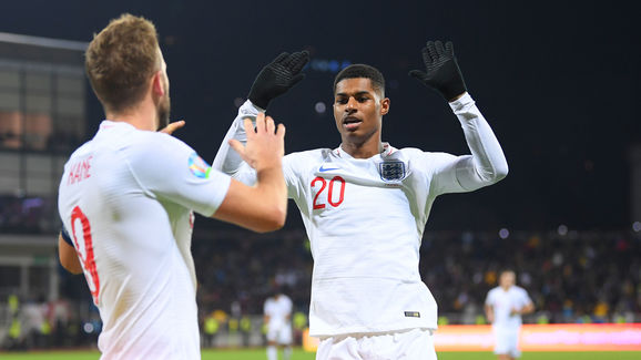Harry Kane,Marcus Rashford