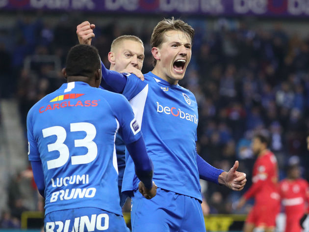 KRC Genk v Royal Antwerp FC - Jupiler Pro League