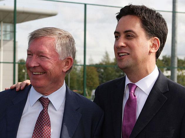 Alex Ferguson,Ed Miliband