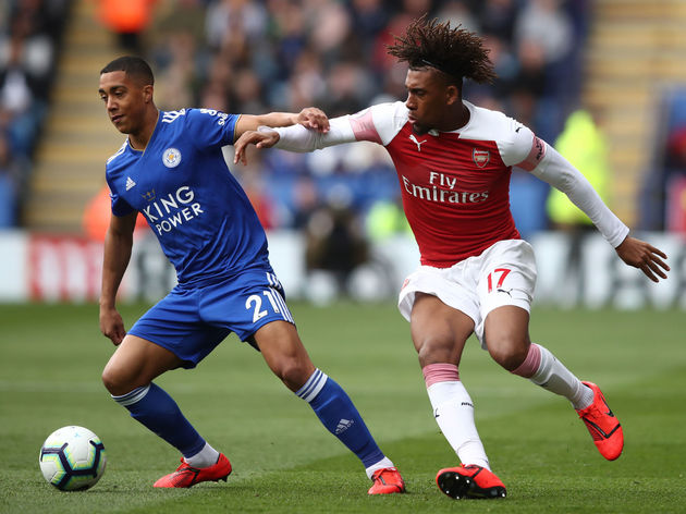 Youri Tielemans,Alex Iwobi