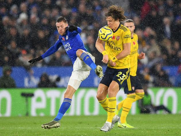 Jamie Vardy,David Luiz