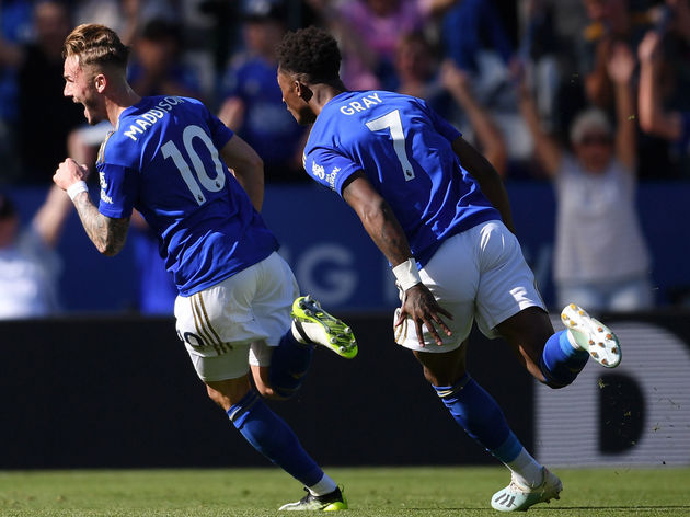 James Maddison,Demarai Gray