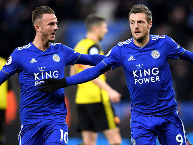 Jamie Vardy,James Maddison