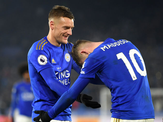 James Maddison,Jamie Vardy