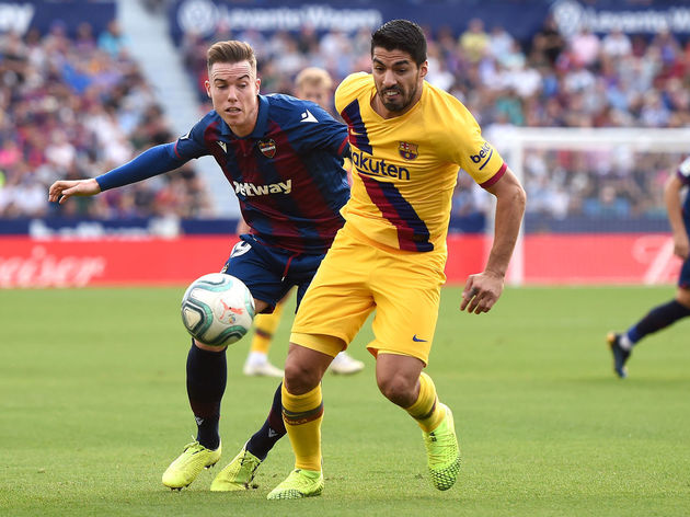 Barcelona Star Luis Suarez Picks Up Leg Injury During Dismal Defeat to Levante 918kissab33