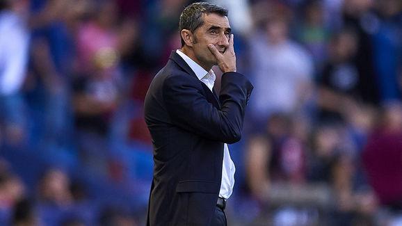 Ernesto Valverde, head coach of