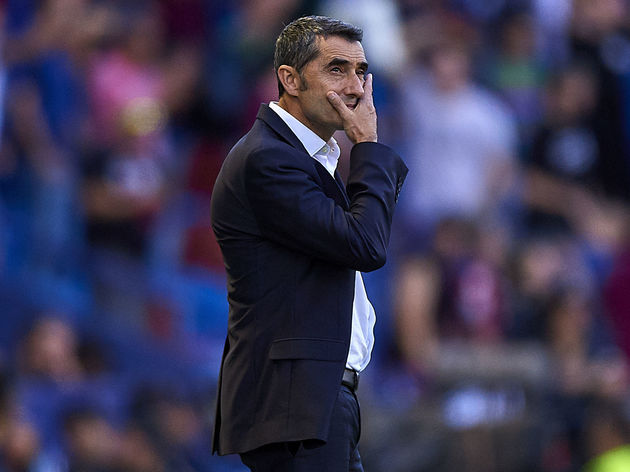 Ernesto Valverde, head coach of