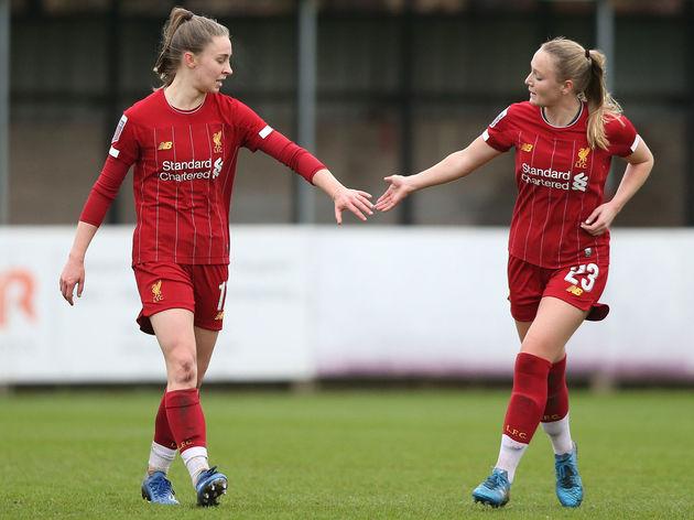 Liverpool FC v Blackburn FC - Women's FA Cup: Fourth Round