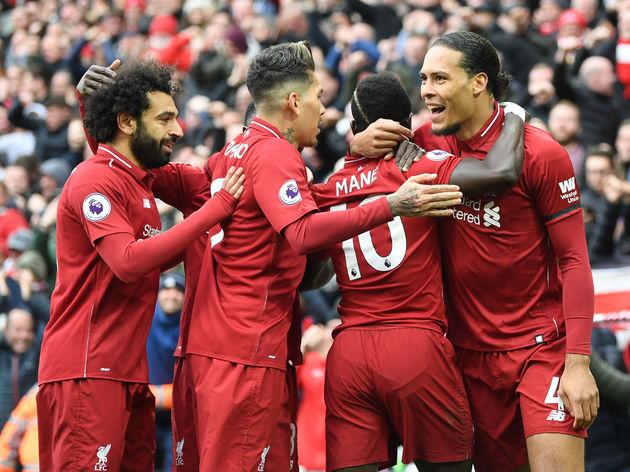 Sadio Mane,Virgil van Dijk,Roberto Firmino,Mohamed Salah