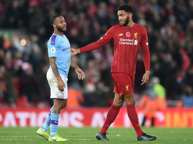 Raheem Sterling,Joe Gomez