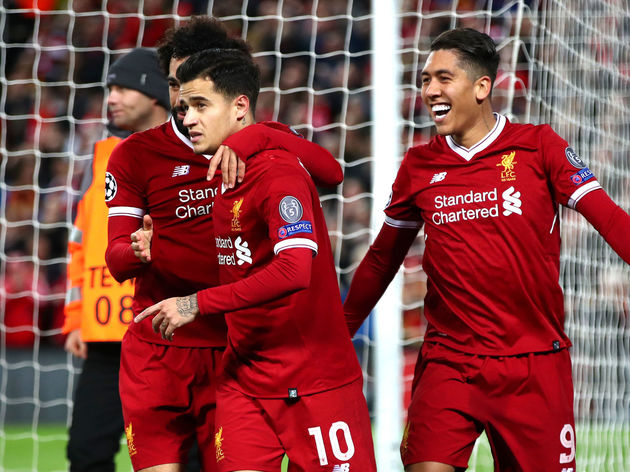 Philippe Coutinho,Roberto Firmino,Mohamed Salah