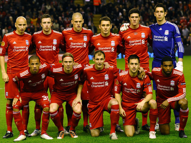 Liverpool line up to take on FC Utrecht