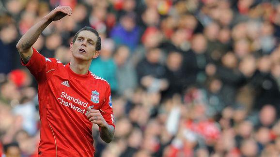 Liverpool's Danish defender Daniel Agger