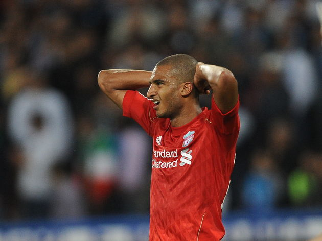 Liverpool's French forward David Ngog re