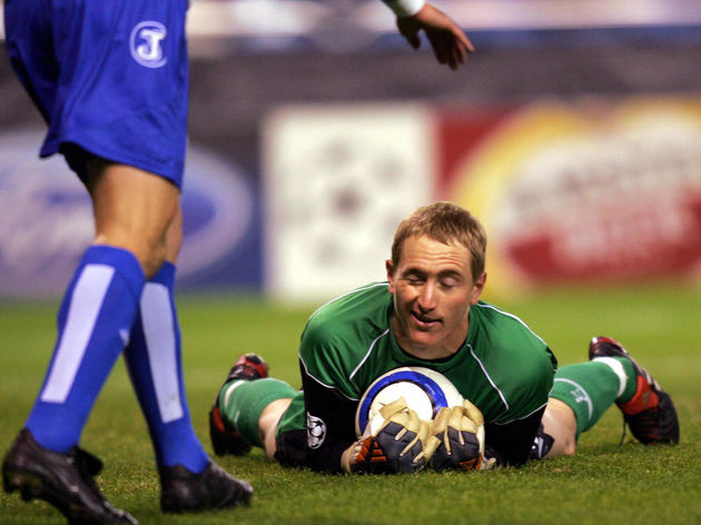 Liverpool's goalkeeper Chris Kirkland st