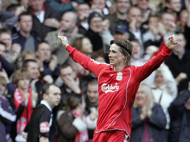 Liverpool's Spanish forward Fernando Tor