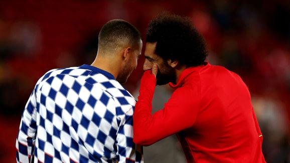 Eden Hazard,Mohamed Salah