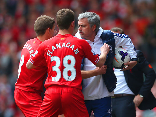 Jon Flanagan,Jose Mourinho,Steven Gerrard