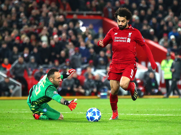 Mohamed Salah,David Ospina