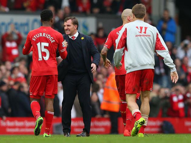 Brendan Rodgers,Daniel Sturridge