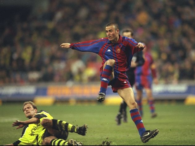 Luis Enrique of Barcelona