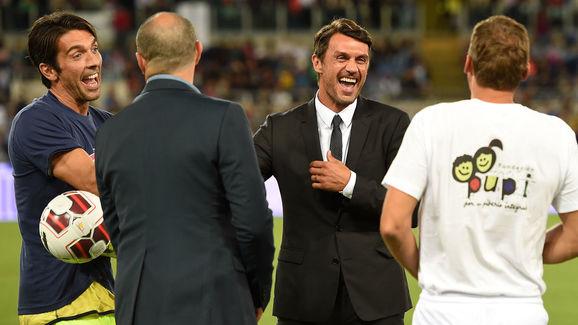 Gianluigi Buffon,Paolo Maldini