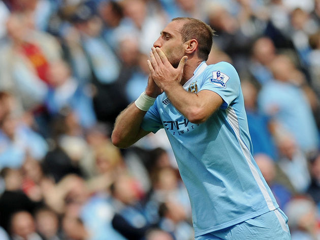 Manchester City's Argentinian defender P