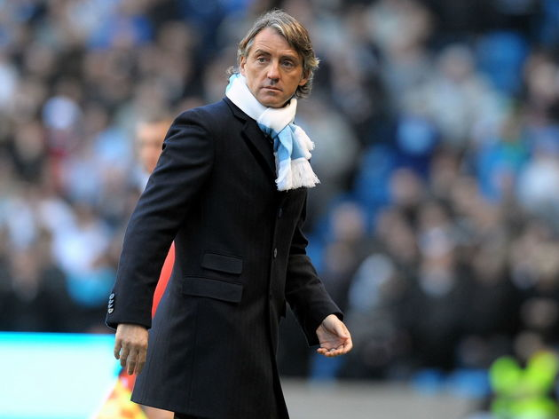 Manchester City's Italian manager Robert