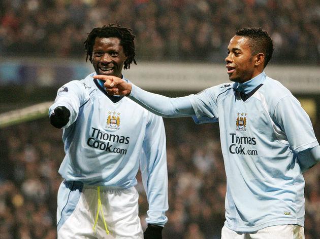 Manchester City's Zimbabwean forward Ben