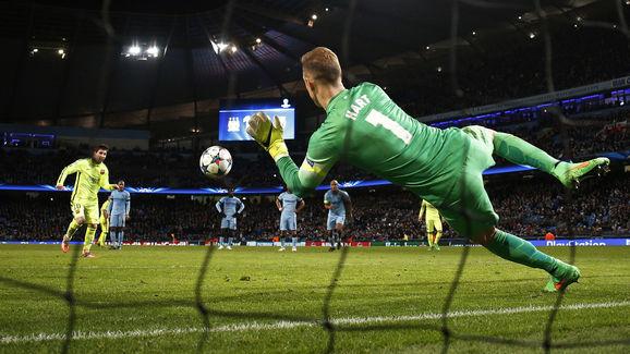 Manchester City v Barcelona