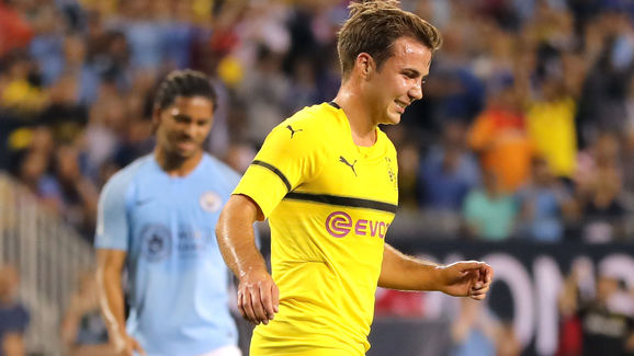 Manchester City v Borussia Dortmund - International Champions Cup 2018