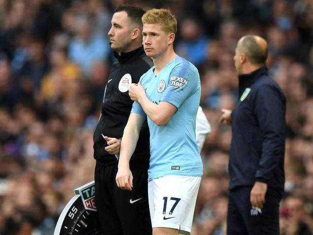 Manchester City v Burnley FC - Premier League