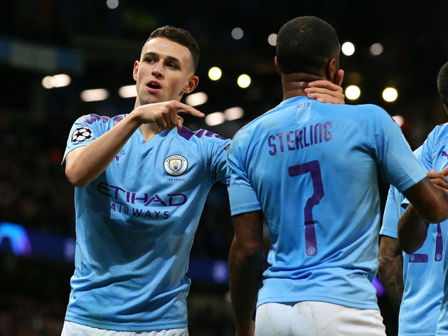 Phil Foden,Raheem Sterling
