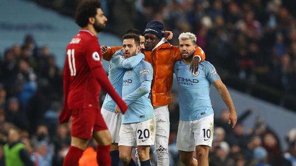 Mohamed Salah,Benjamin Mendy,Bernardo Silva . Ilkay Gundogan,Sergio Aguero