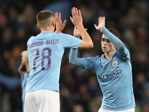 Taylor Harwood-Bellis,Phil Foden