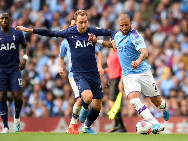 Kyle Walker,Christian Eriksen