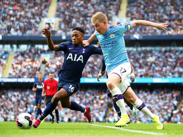 Kevin De Bruyne,Kyle Walker-Peters