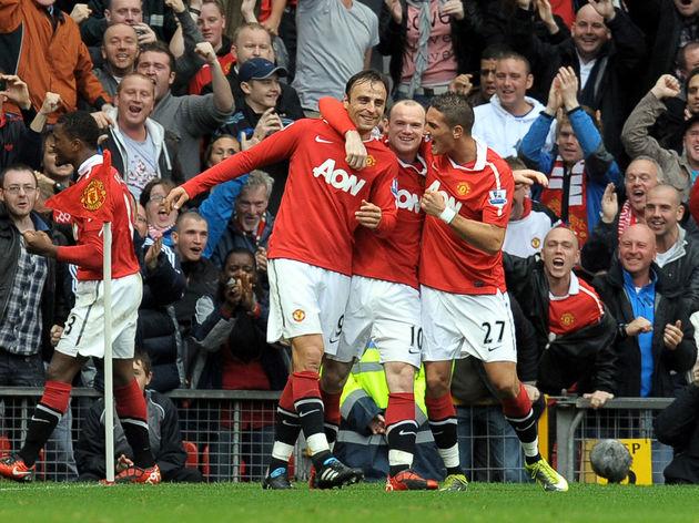 Manchester United's Bulgarian forward Di