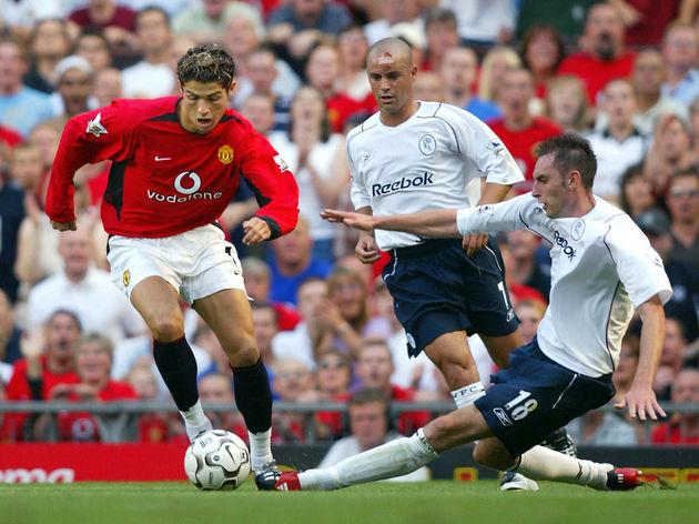 Manchester United's Cristiano Ronaldo (