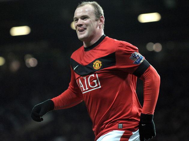 Manchester United's English forward Wayn