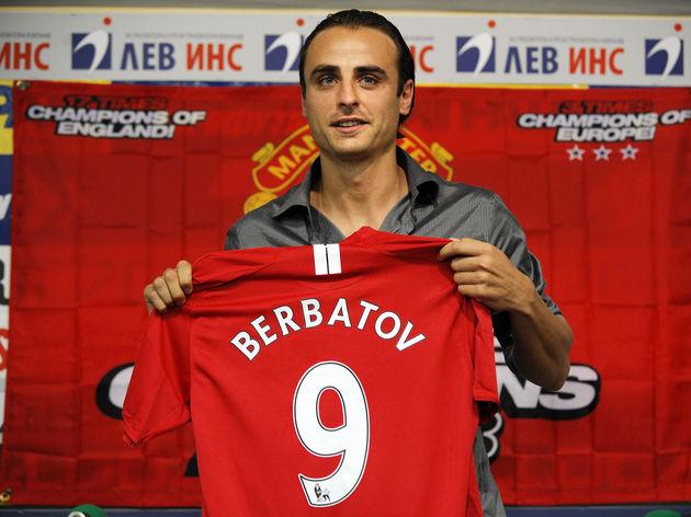 Manchester United's new player Dimitar B